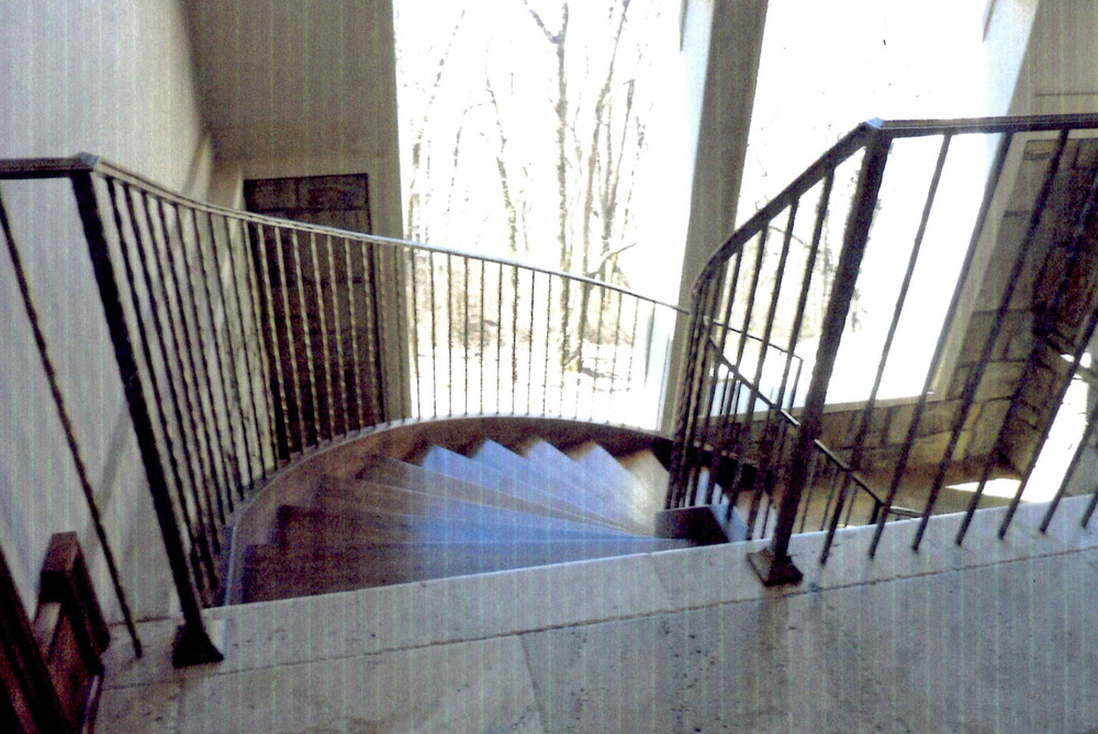 Double Helix stair railing