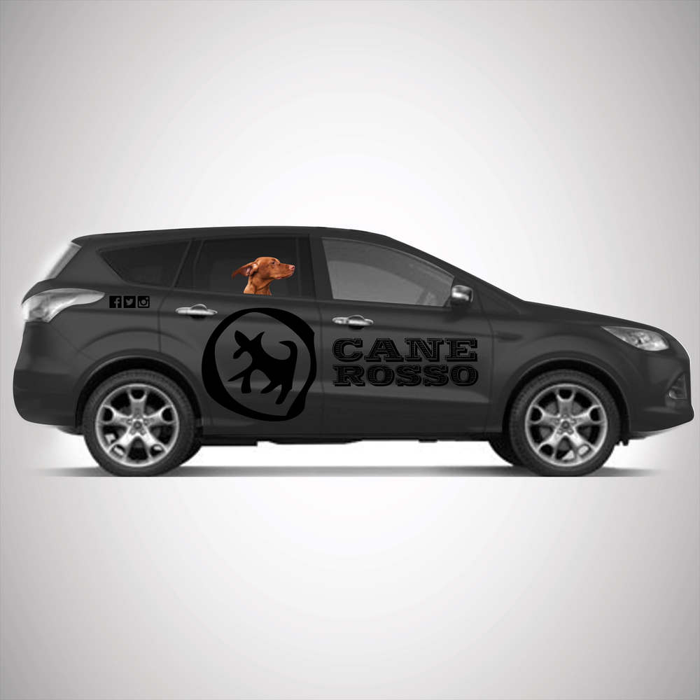 Cane Rosso black company car wrap.jpg