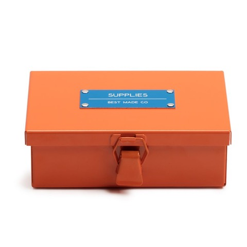 """Supplies"" box also made in collaboration with Best Made Co."