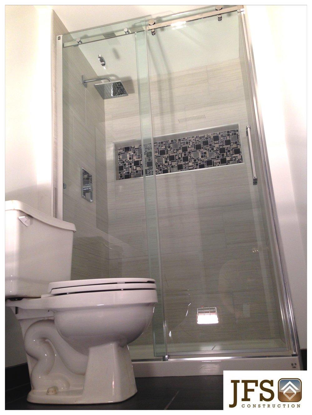 Custom Tile Shower Kitchener