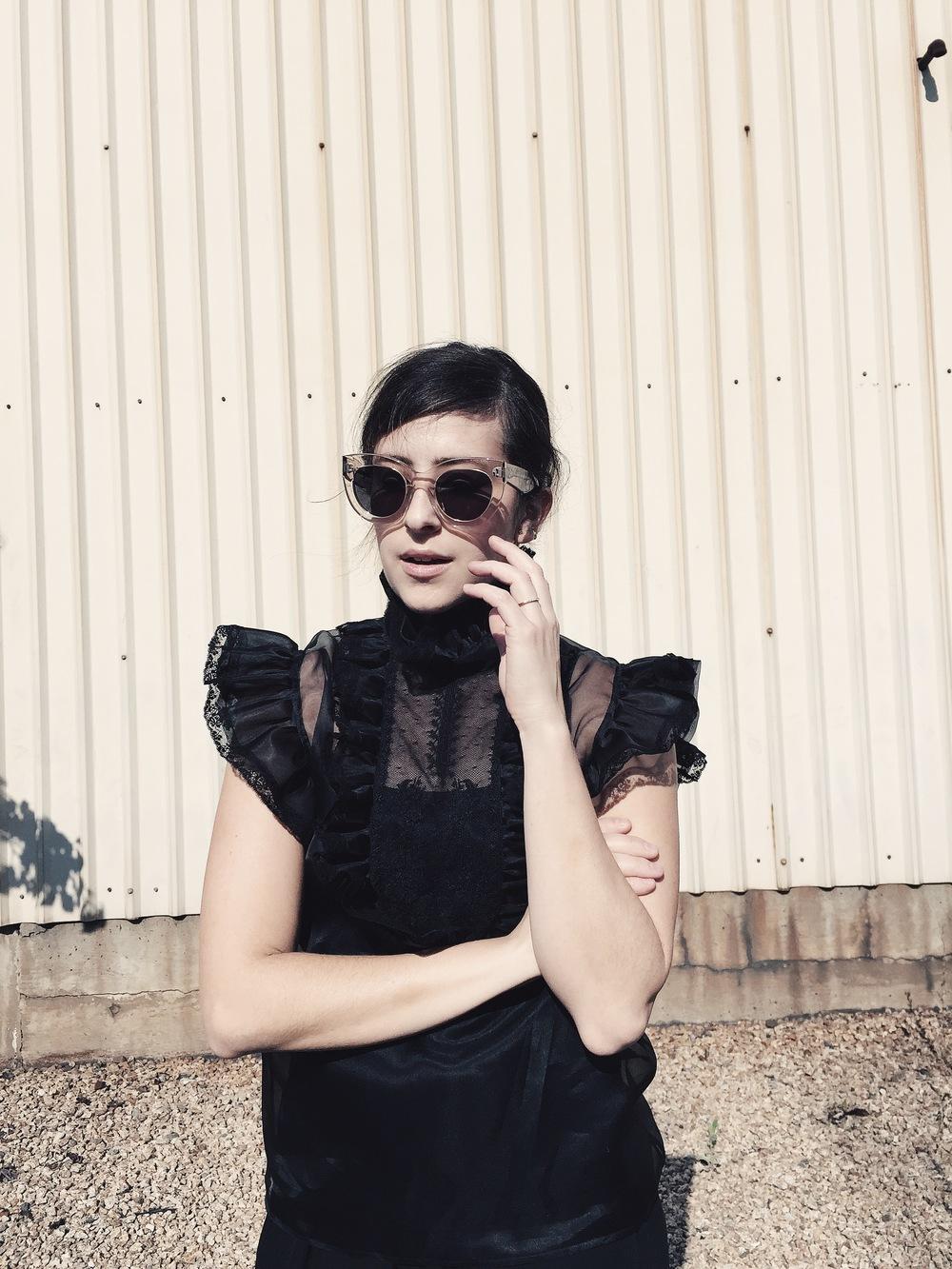 Céline Caty sunglasses