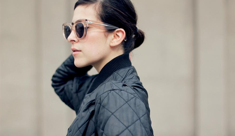 Céline transparent Caty sunglasses