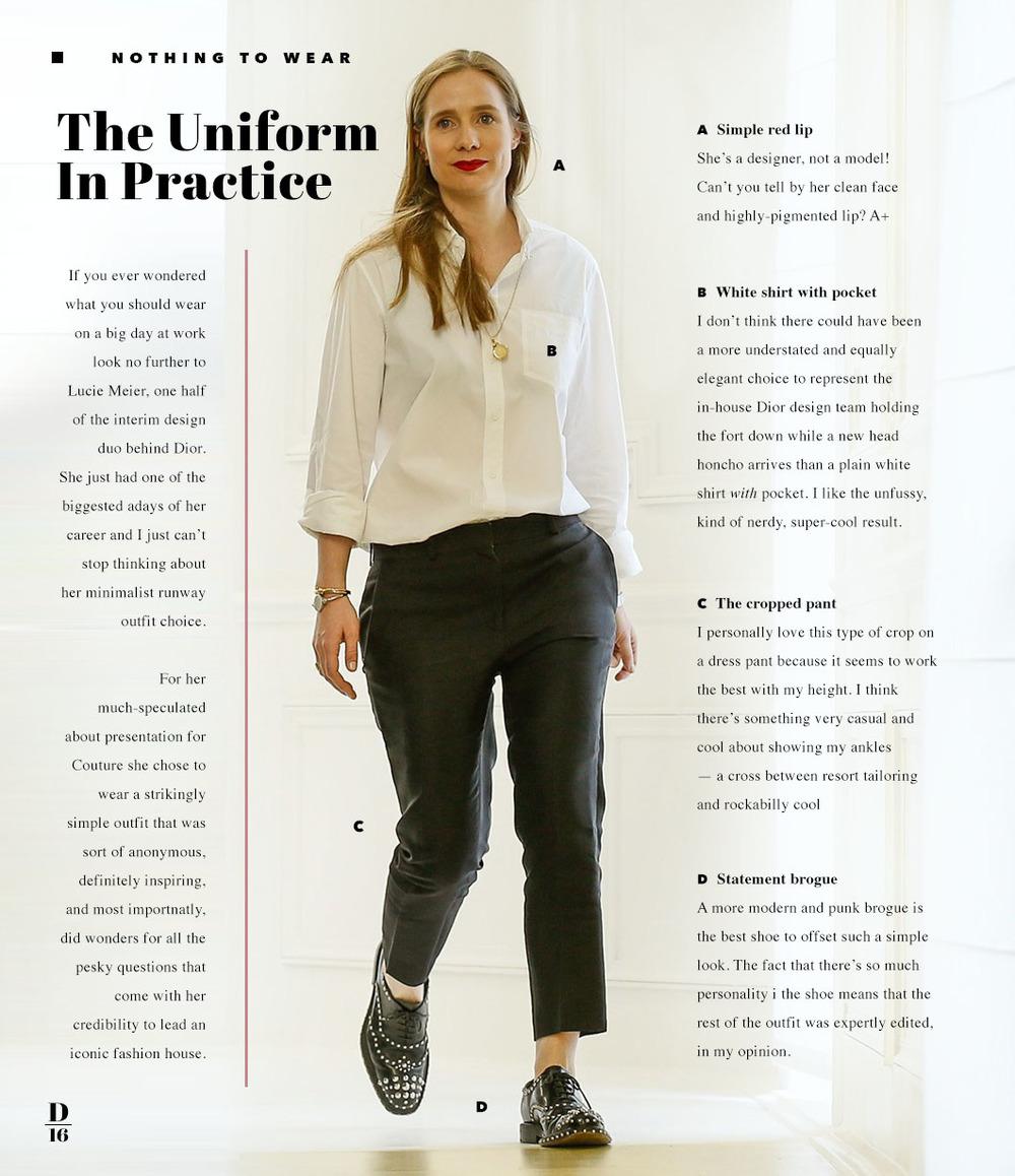 The Work Uniform for A Big Day | twelveofour.com