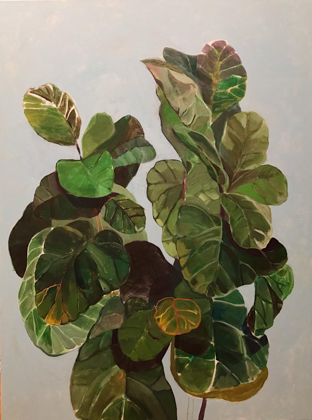 painting by Olga Montserrat