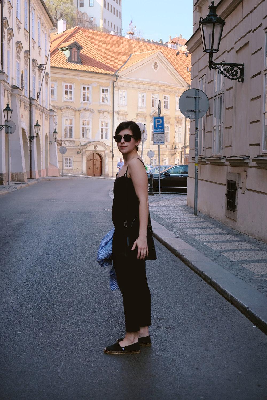 Olga Montserrat in Prague, twelveofour.com