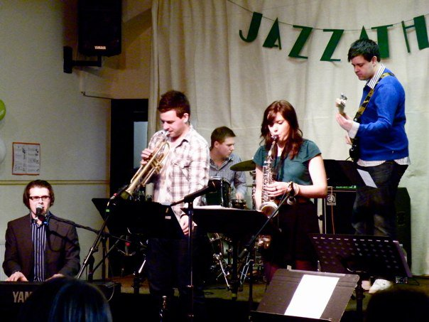 ENTOURAGE perform at Jazzathon March 2011