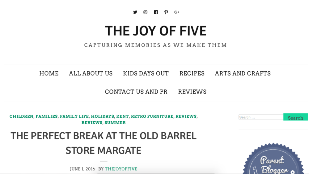 THE PERFECT BREAK AT THE OLD BARREL STORE MARGATE