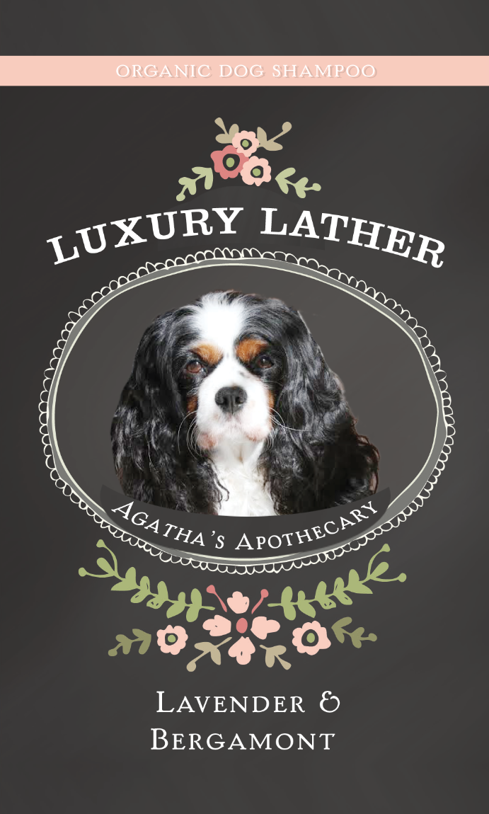 Agatha's Apothecary Luxury Lather Dog Shampoo