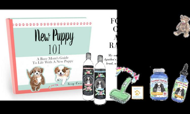 Agatha's Apothecary Puppy Kit