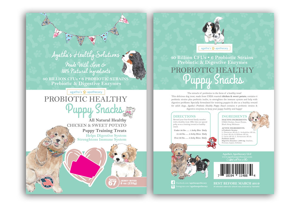 Agatha's Apothecary Puppy Snacks