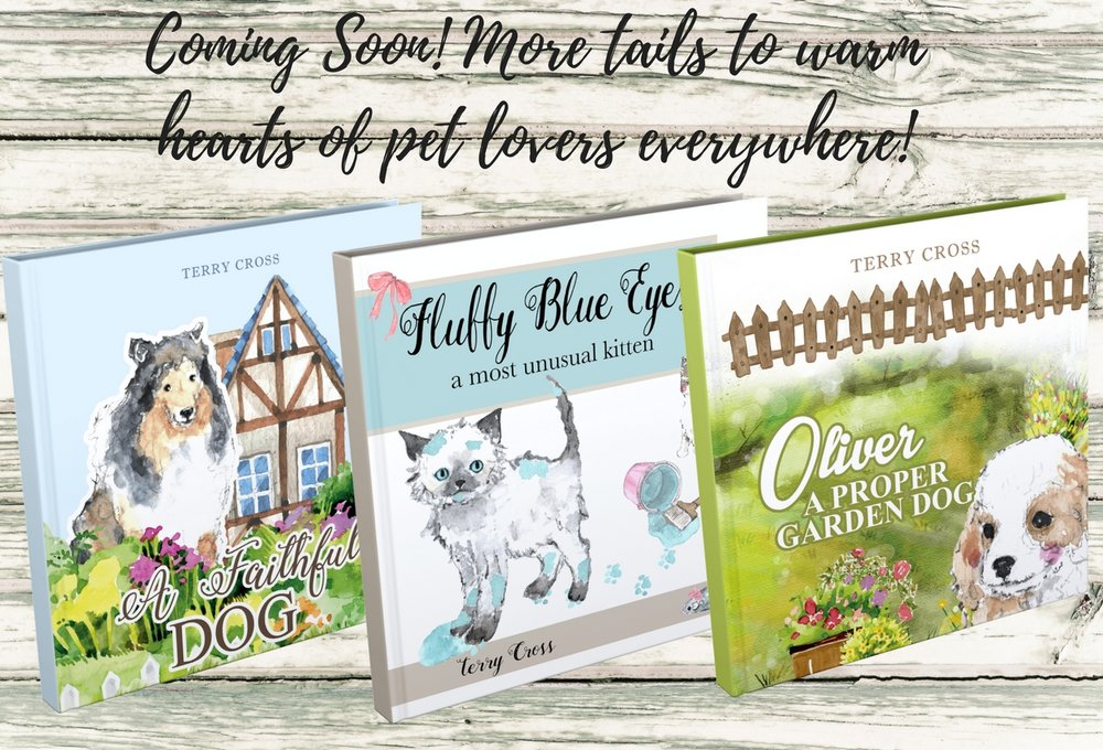 More of my beloved children's dog (and 1 cat) books coming soon!