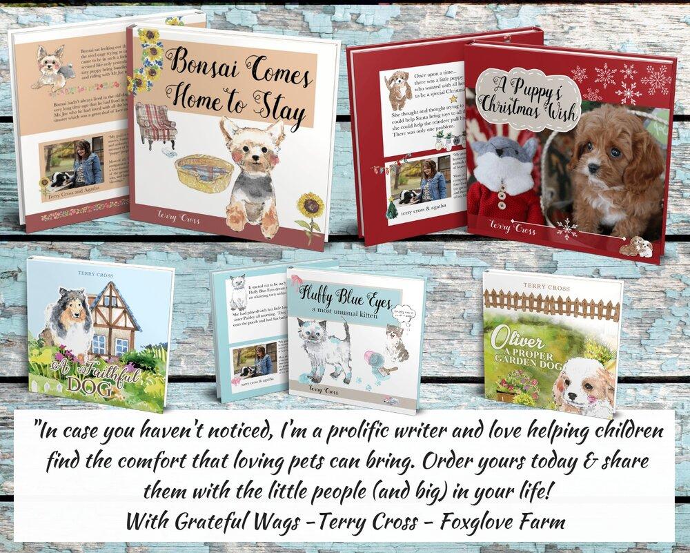 Beautiful Children's Dog Book Covers