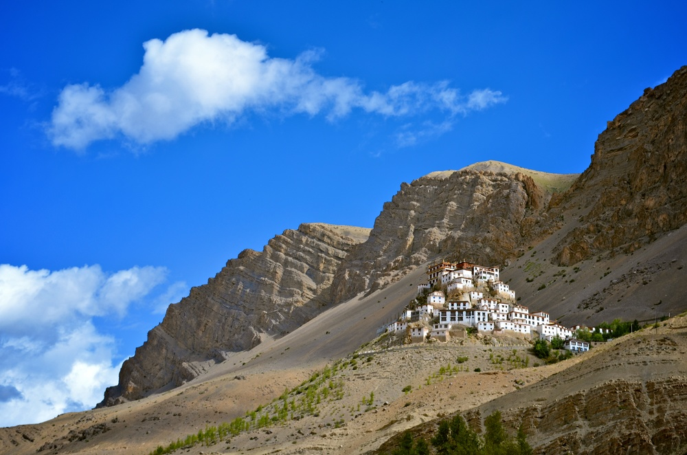 Key Gompa, Spiti Valley, India