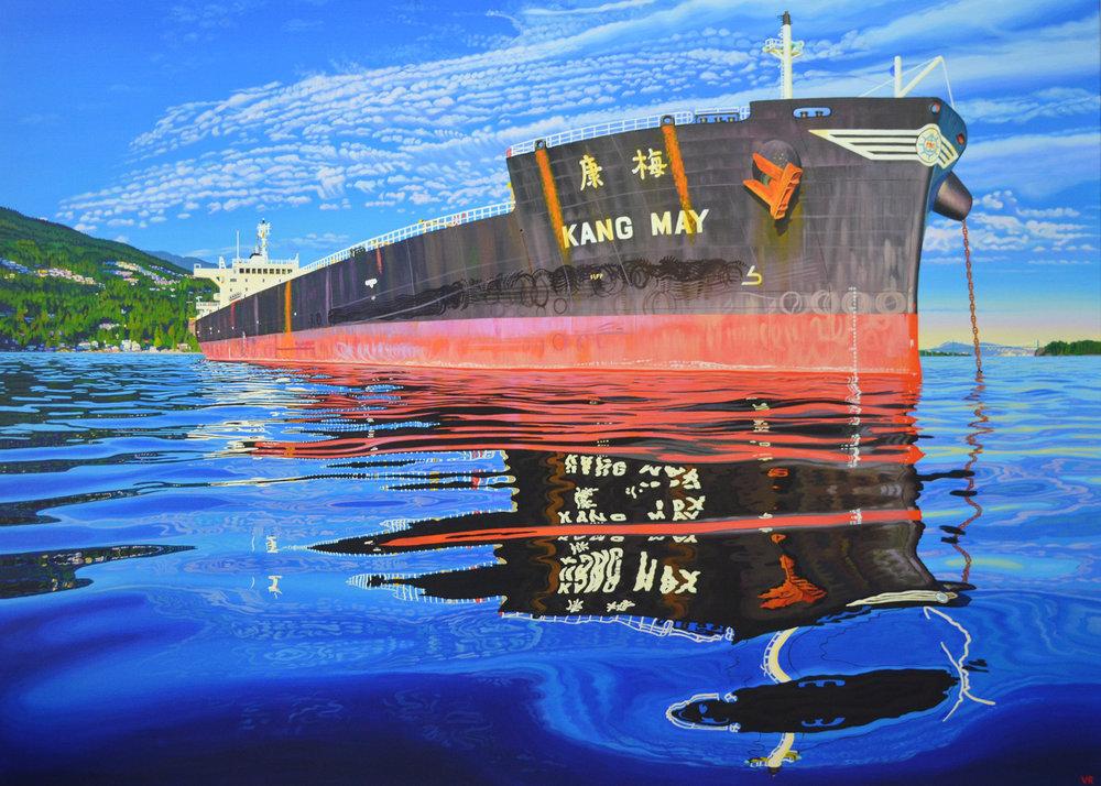 Kang May    45 x 63    acrylic on canvas