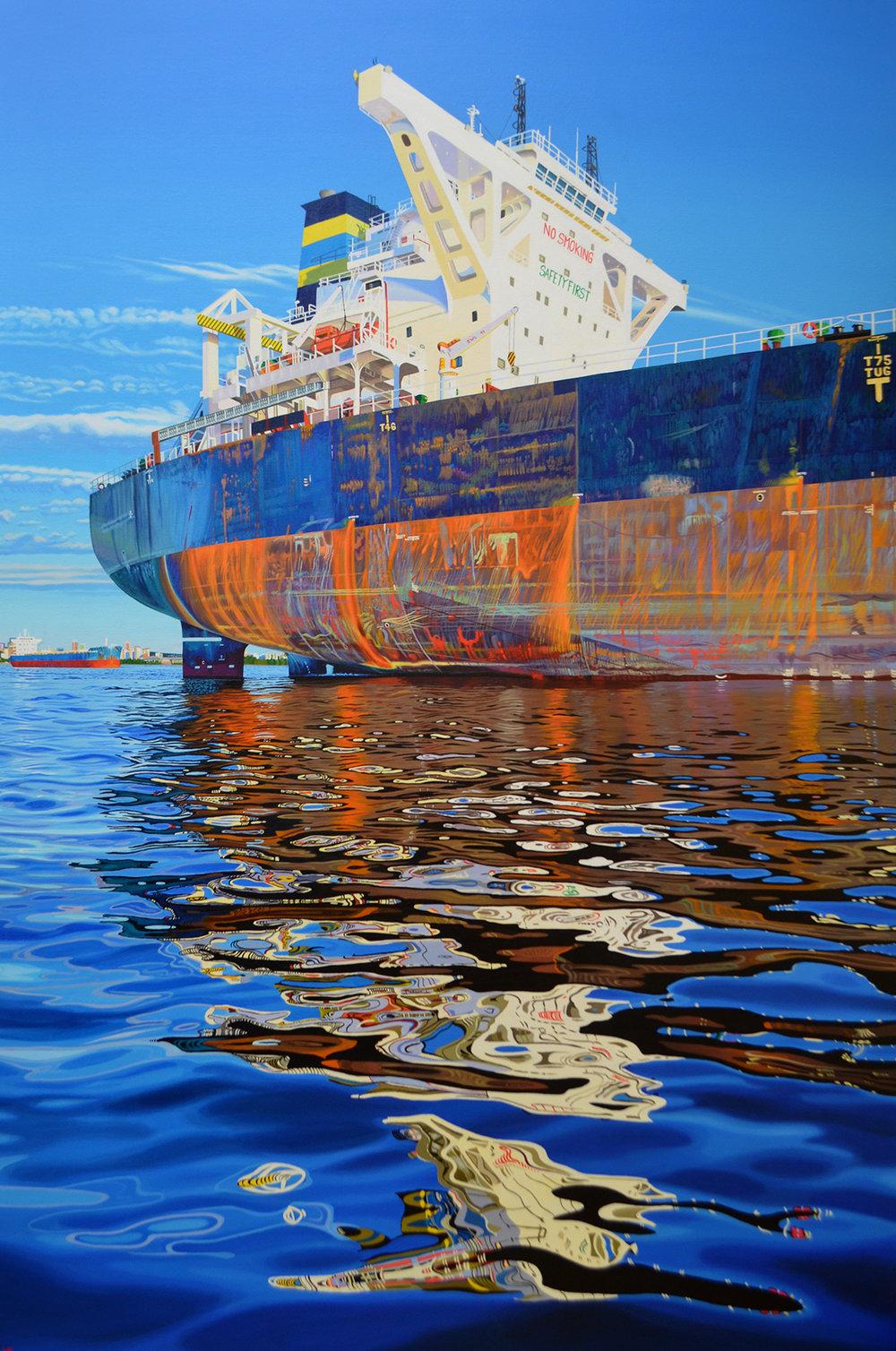Xanadu    72 x 48    acrylic on canvas