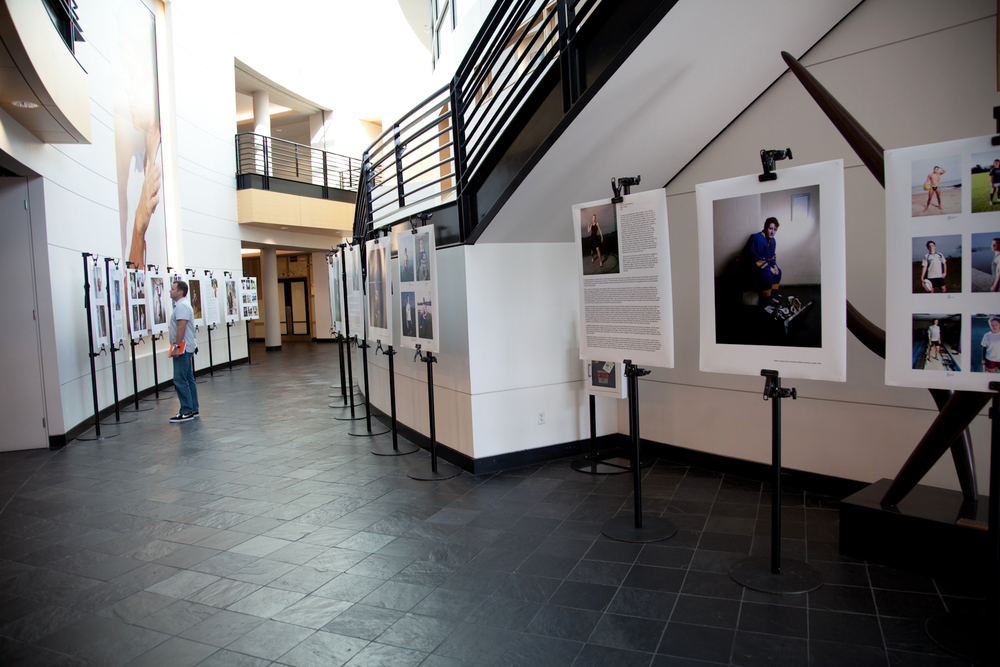 Exhibition of the  Fearless Project,  Nike World Headquarters, Beaverton, OR, 2010
