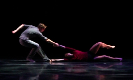 Eric Johnston and Rachel Malhorn