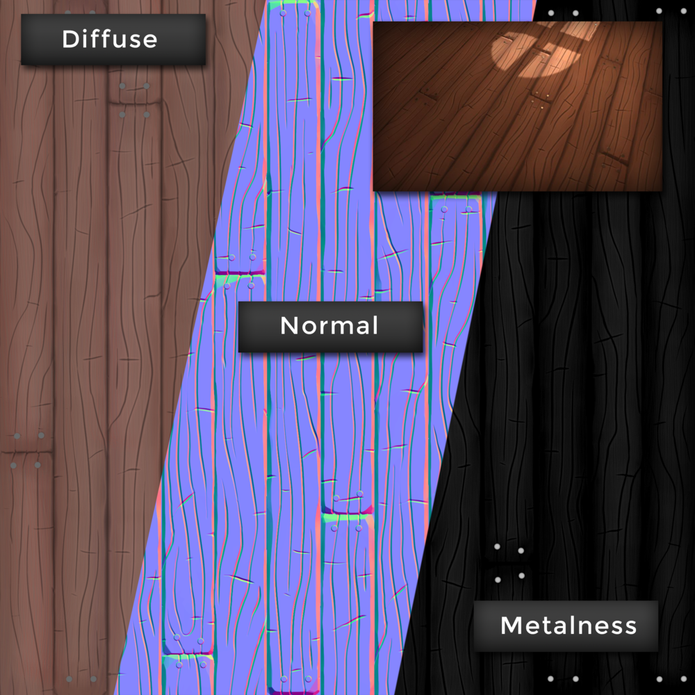 With PBR materials, the 'shinyness' comes from two maps now, rather than just a specular map. There's the Metalness map (which affects how 'metal' the texture appears) and the Smoothness map (which affects how 'smooth' the material is.  A MUCH better explanation here, haha.