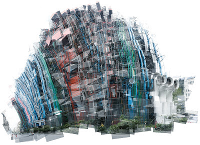 Panografie Centre Pompidou © Mareen Fischinger