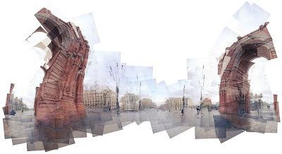 Panographie Arc de Triomphe © Mareen Fischinger