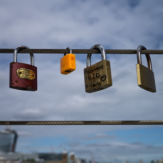 Love Padlocks – Stephane Mille + Mary © Graham Dew, 2013