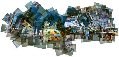 Panographie Times Square © Mareen Fischinger