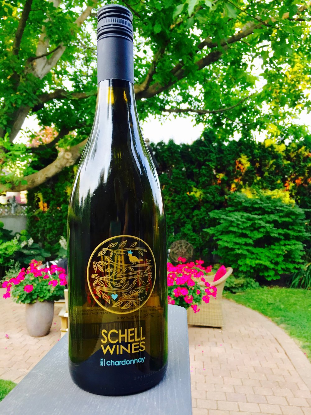 OUR FIRST VINTAGE OF SCHELL CHARDONNAY