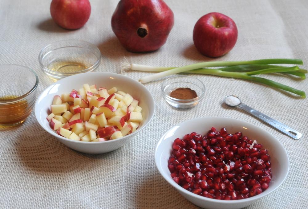 apple cinnamon pomegranate salsa ingredients