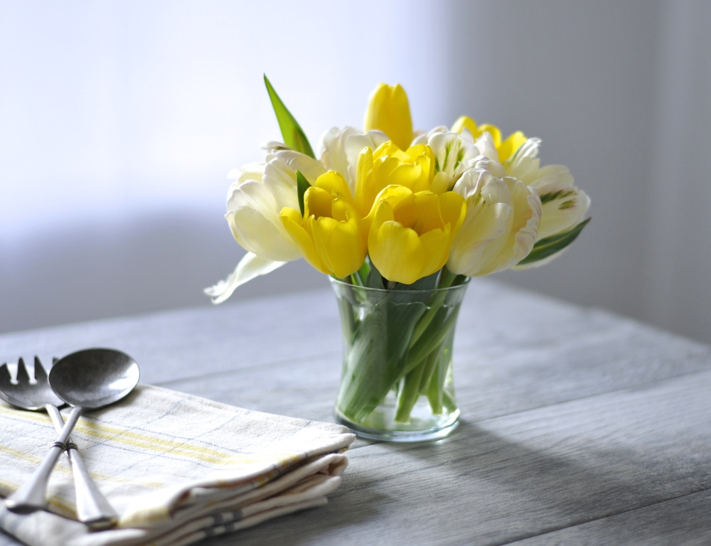 Simple spring brunch