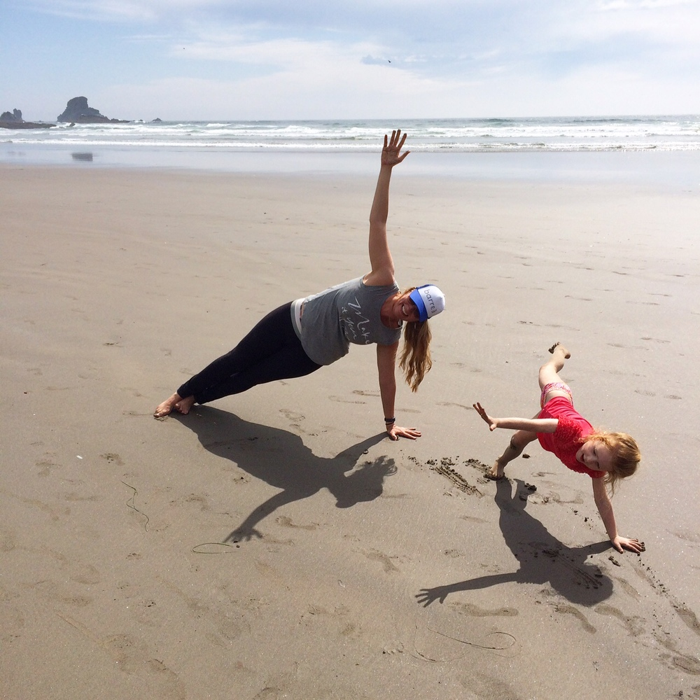 From the Gorge to the Beach. #barre3anywhere realfoodwholelife.com