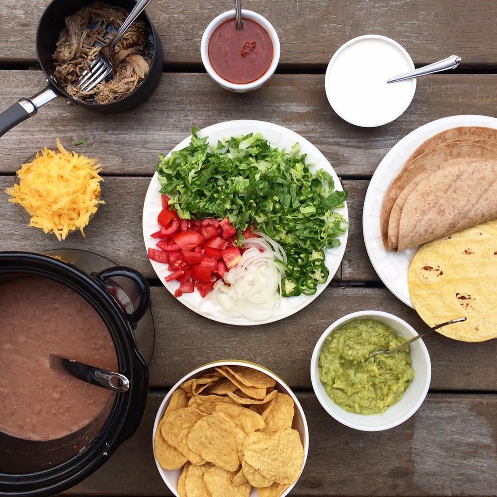 DIY Taco Bar.
