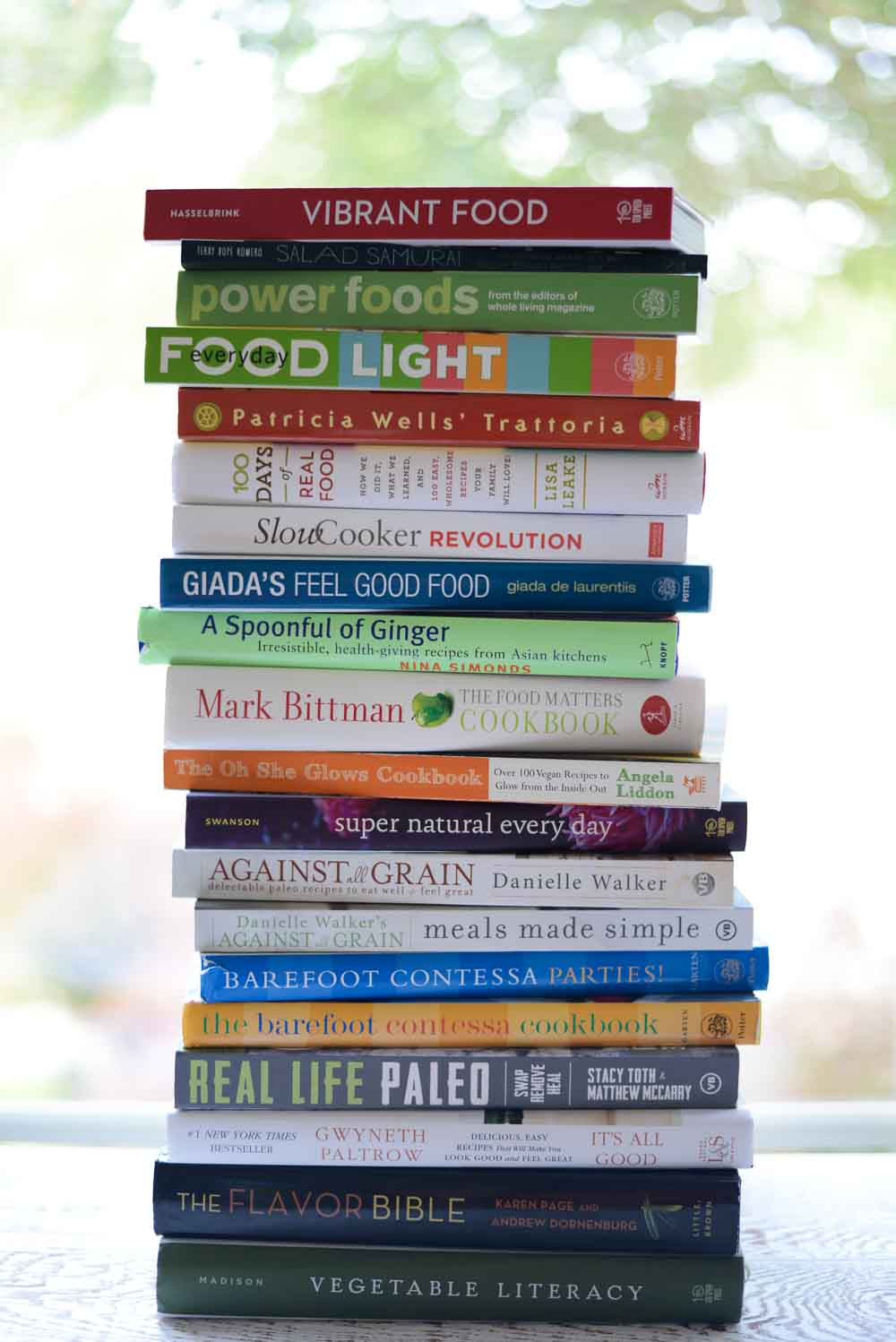 My favorite healthy cookbooks!
