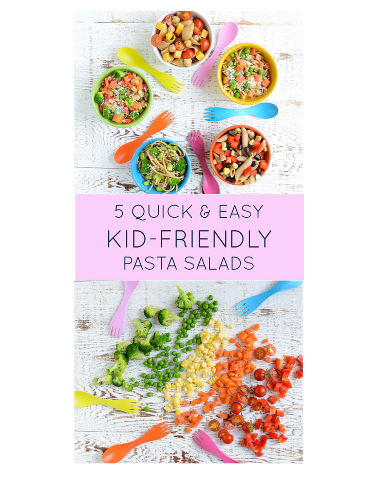 5 Quick & Easy Kid-Friendly Pasta Salads