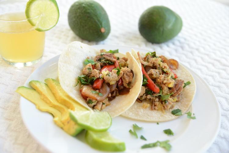 Maui Turkey Tacos