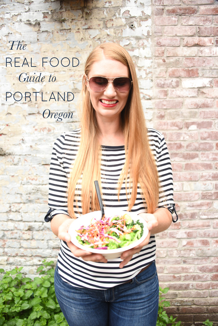 The Real Food Guide to Portland, Oregon: Where to Eat & What to Do, Westside Edition