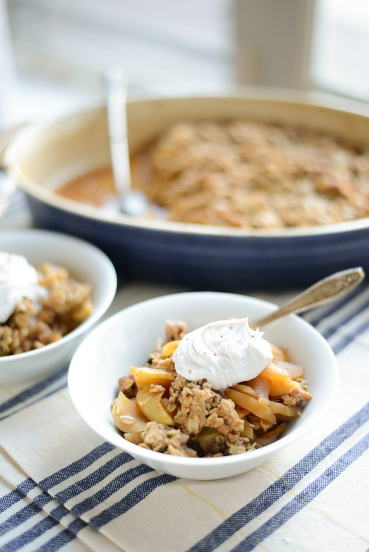 Healthier Old Fashioned Apple Crisp Real Food Whole Life