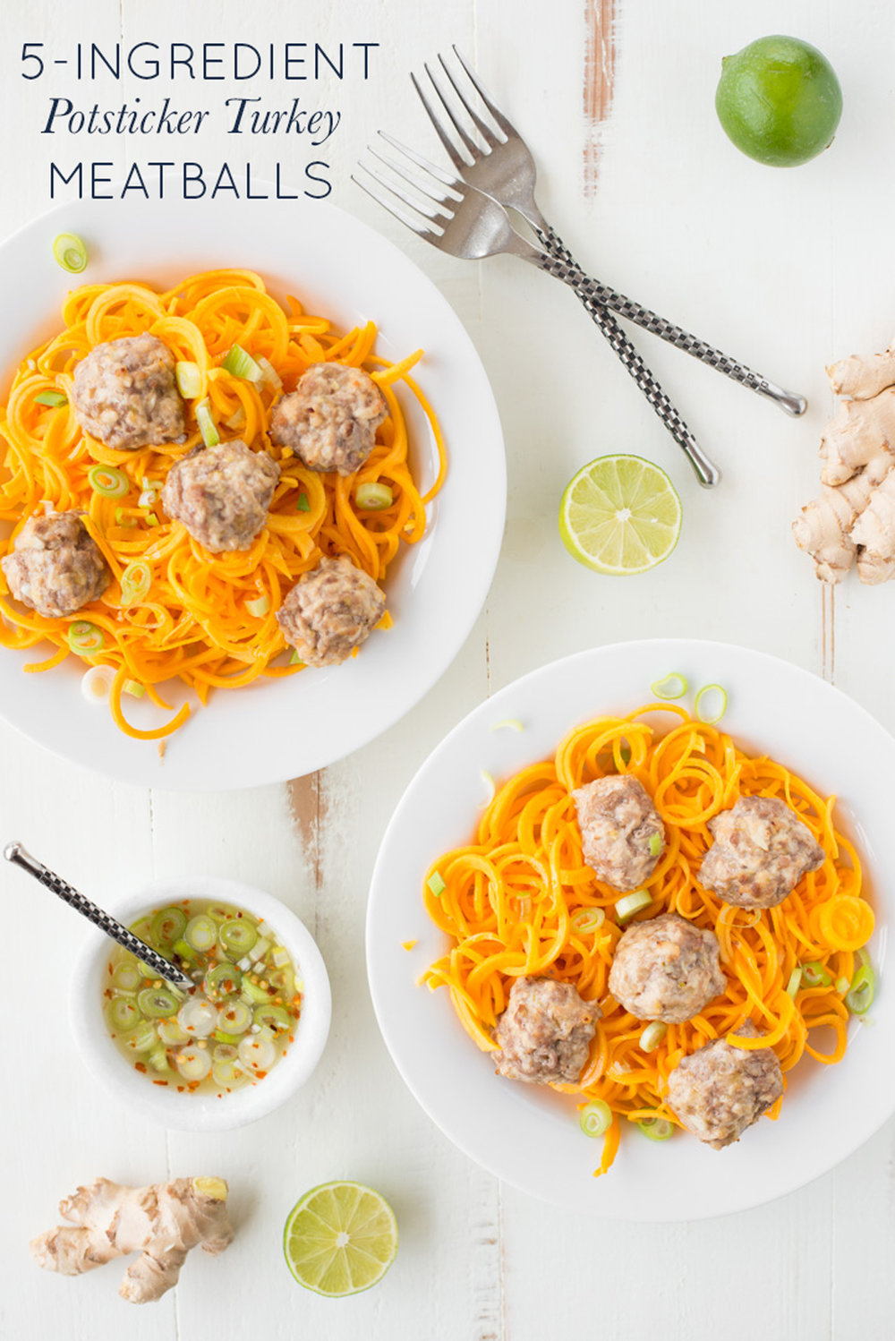 5 ingredient potsticker turkey meatballs real food whole for Cuisine 5 ingredients