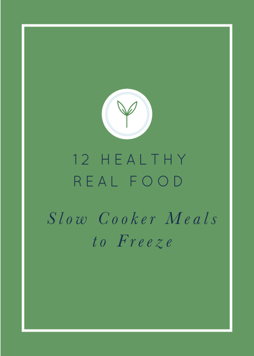 Healthy Slow Cooker Freezer Meals: Gluten-Free and Dairy-Free