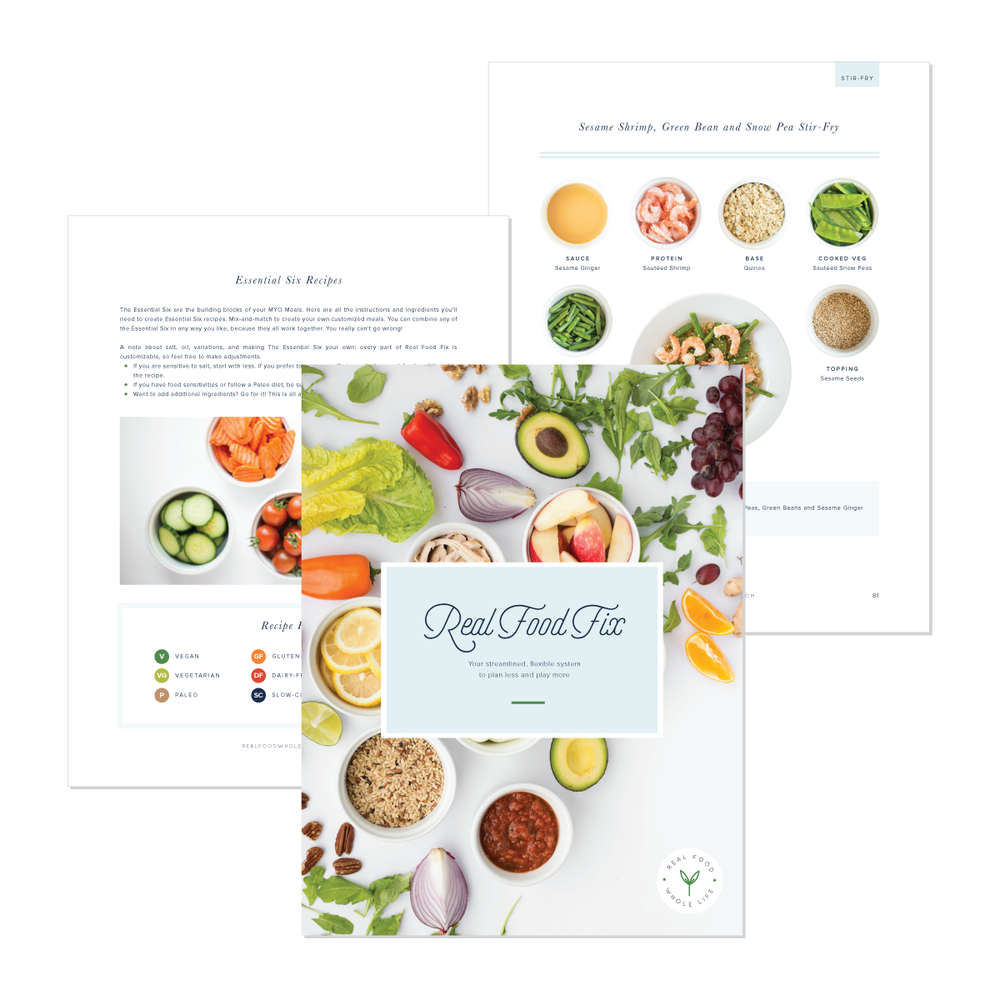 Real Food Fix: Simplified Meal Planning + Prep