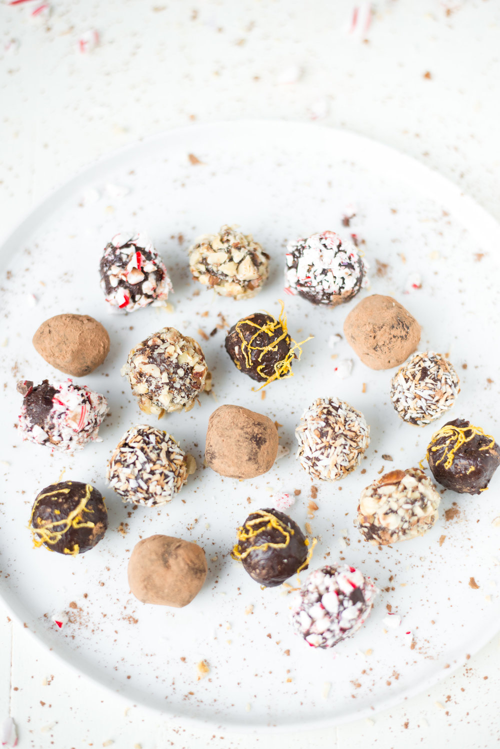 3-Ingredient Chocolate Truffles are simple to make, taste divine, and are dairy-free!