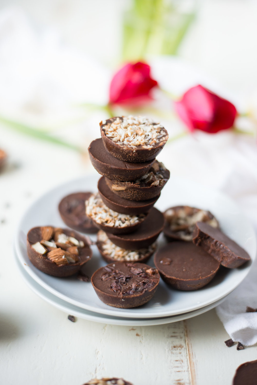 A few simple ingredients combine in these decadent, naturally-sweetened, 5-Ingredient Joyful Chocolate Bites.