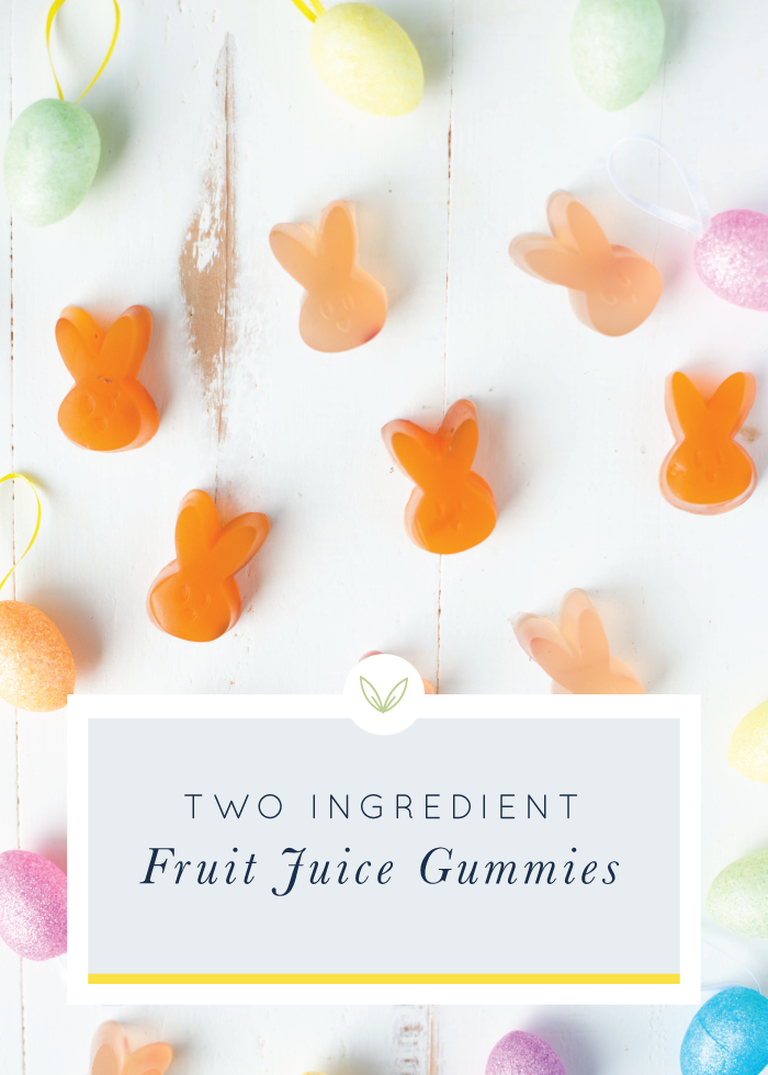 With just 2 simple ingredients, 2-Ingredient Fruit Juice Gummies are a fun treat to make at home!