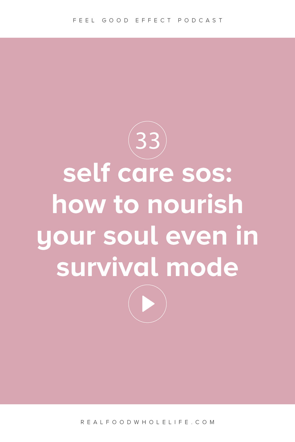 self care sos: how to nourish your soul even in survival mode