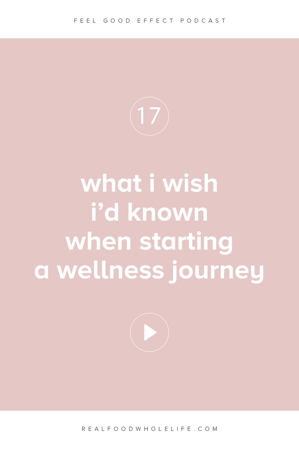 What I Wish I'd Known When Starting a Wellness Journey