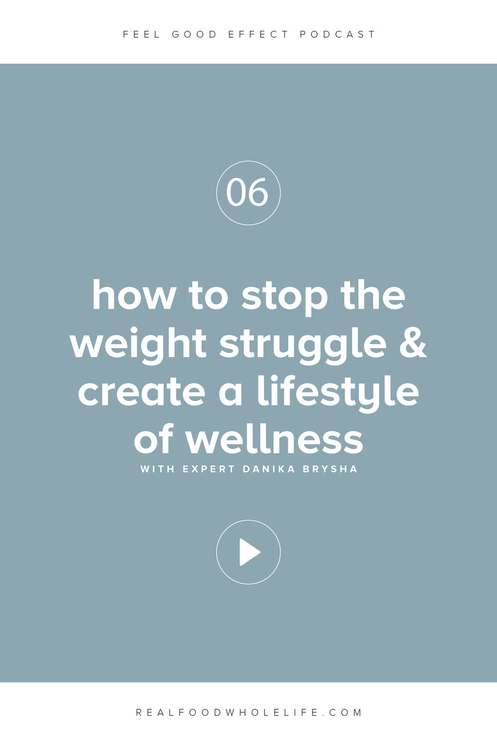 How to Stop the Weight Struggle & Create a Lifestyle of Wellness