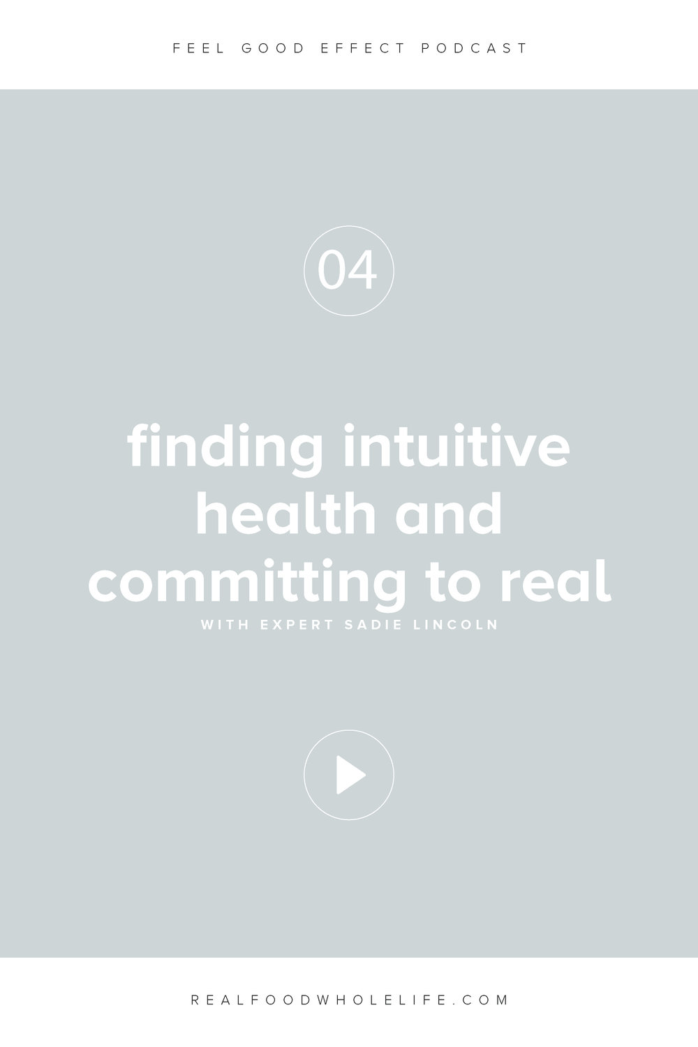 Finding Intuitive Health and Committing to Real with Sadie Lincoln