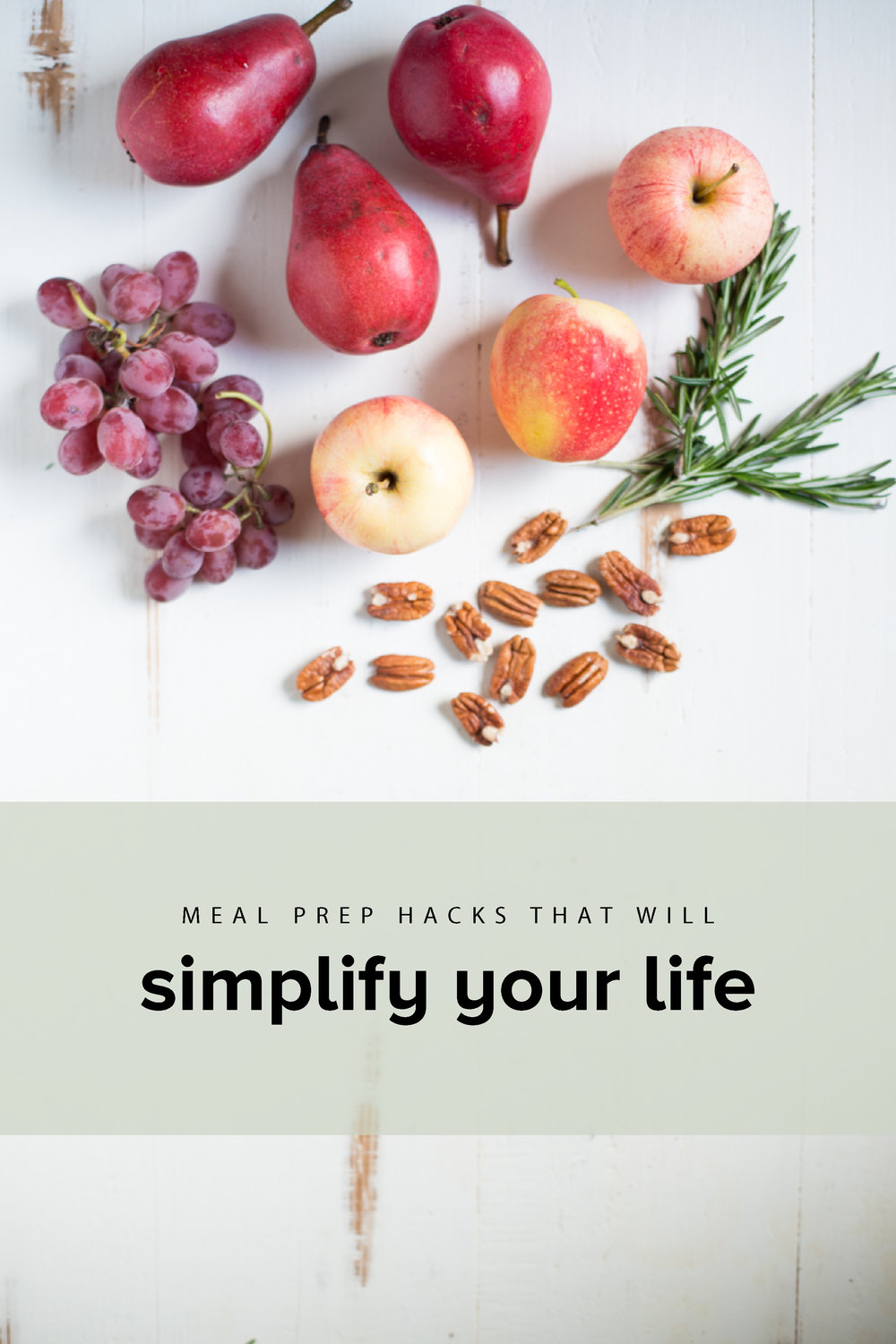 Essential meal prep hacks that will simplify your life. Streamlined meal prep tips and tricks to help you save time and prep efficiently. #realfoodwholelife #realfoodwholelifemealprep #mealprep #healthymealprep #mealpreptips #mealpreprecipes #minimalism #simplification