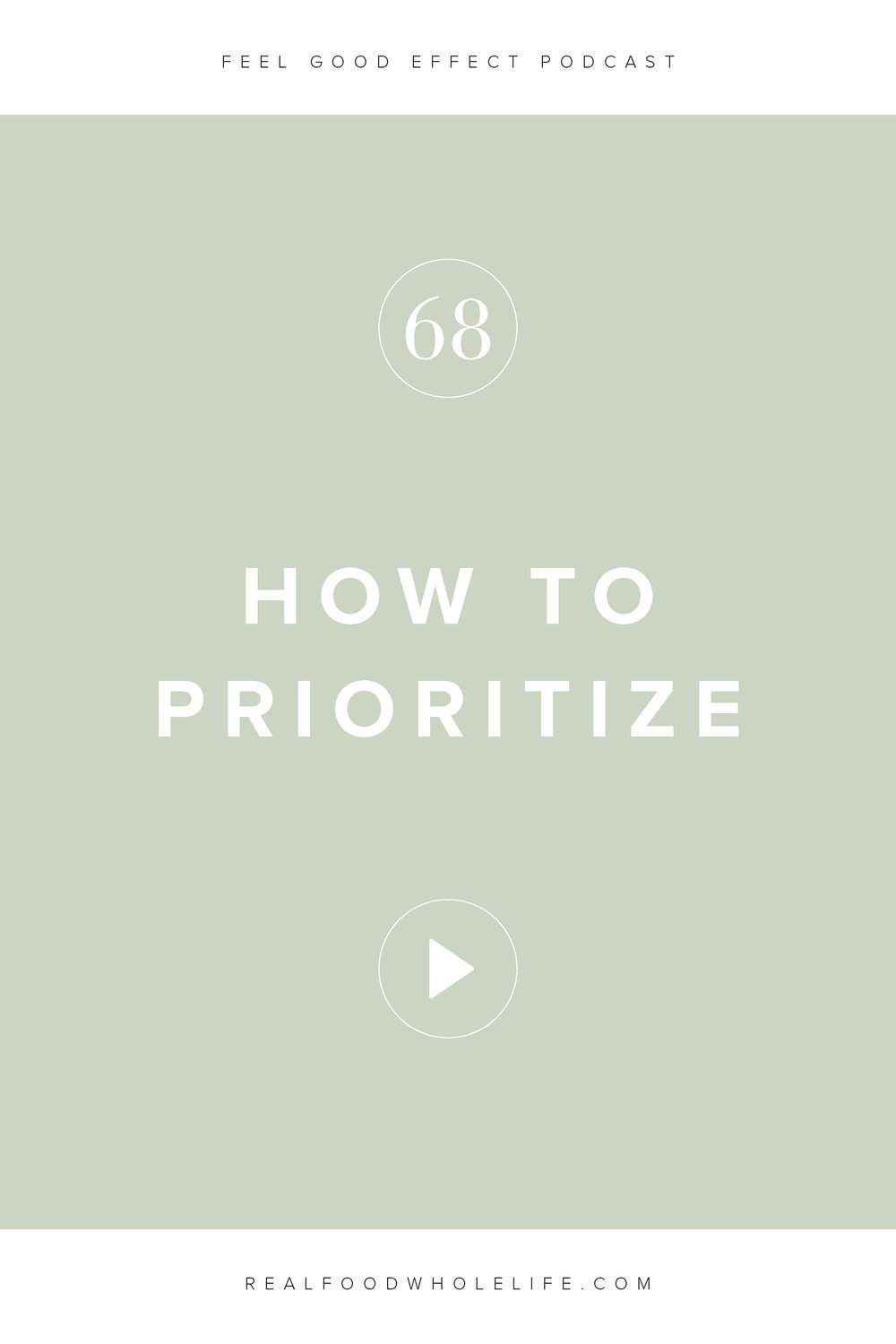How to Prioritize When Everything's Important, and episode from the Feel Good Effect all about how to pull meaning out of all the noise. #realfoodwholelife #feelgoodeffectpodcast #personaldevelopment #selfcare #selfimprovement #podcast #wellnesspodcast #healthpodcast  #wellness #wellnesspodcast  #healthandwellness #healthandwellnesspodcast