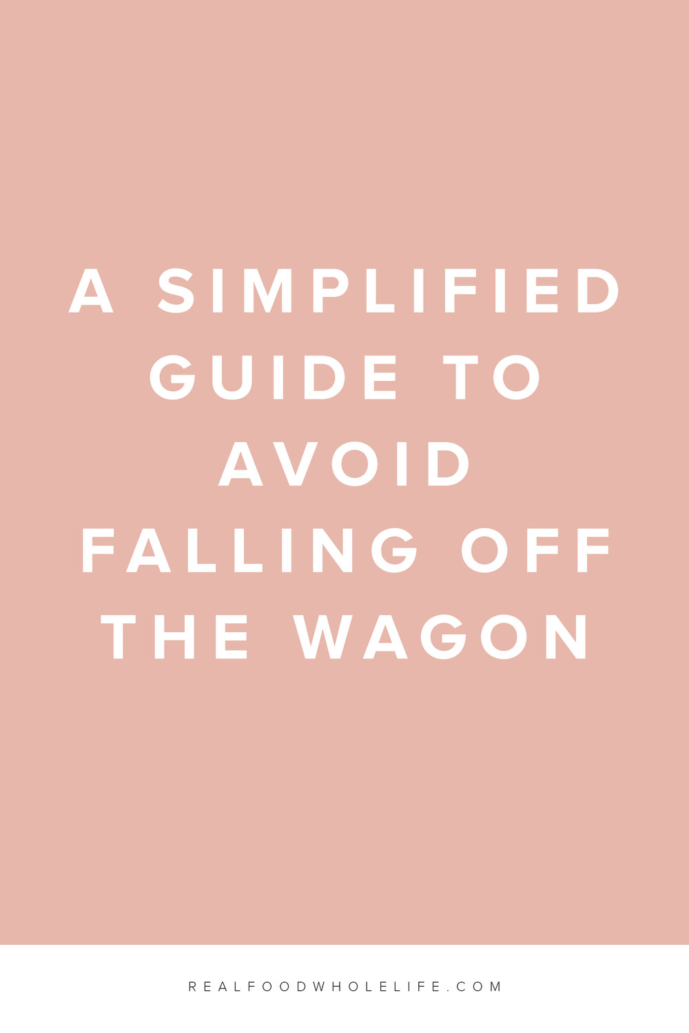 A simplified guide to avoid falling off the wellness wagon. Read on for more on how to ditch the wagon and practice gentle. #feelgoodeffect #realfoodwholelife #wellness #healthy #gentleisthenewperfect #practicegentle