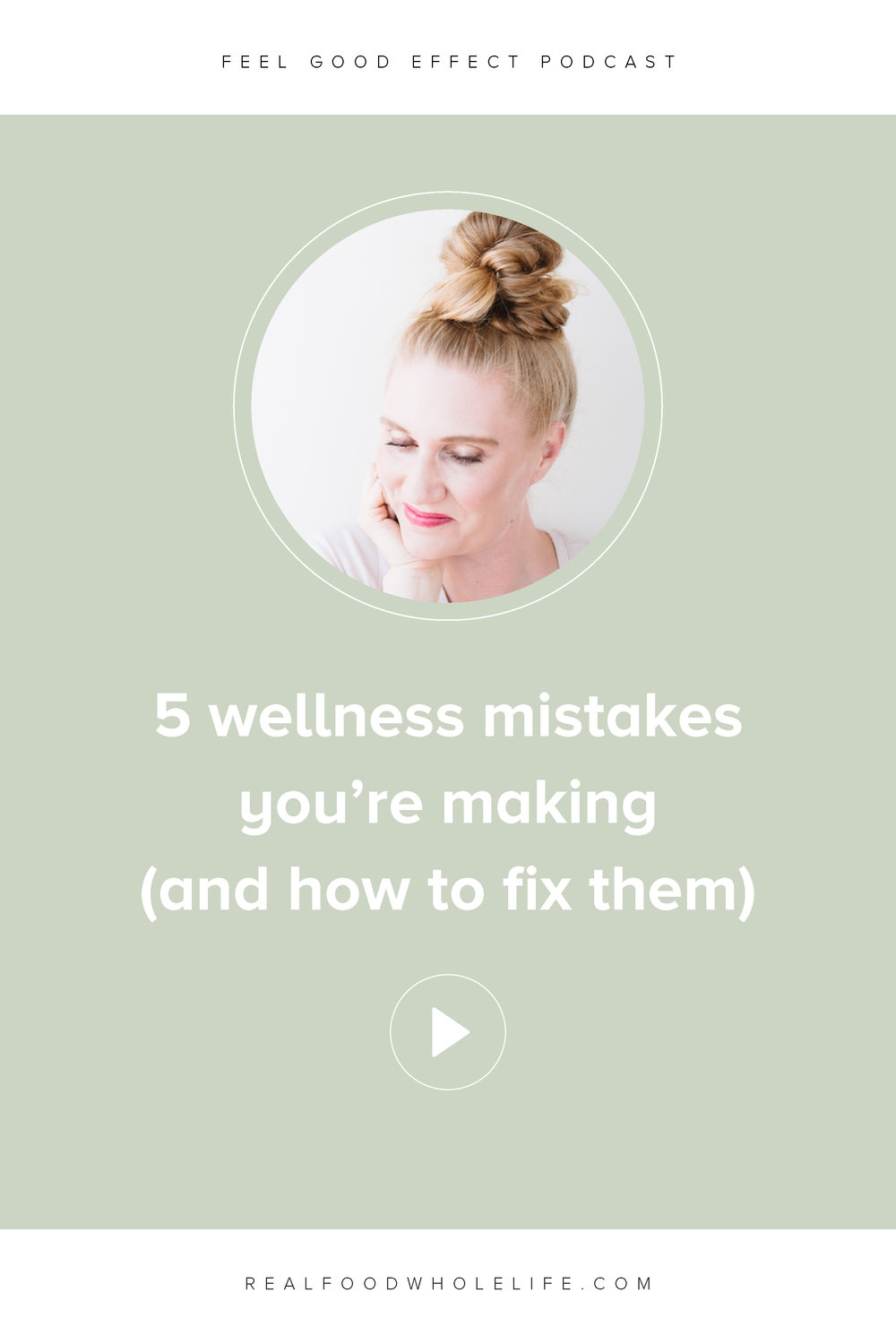 Find out the 5 biggest wellness mistakes you're making, and to listen to this episode of the Feel Good Effect podcast to learn about how to fix them. #feelgoodeffectpodcast #podcast #wellness #healthyandwellness #wellnesspodcast #healthpodcast #healthandwellnesspodcast #selfhelp #selfimprovement #healthylifestyle #healthyliving